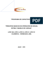 Manual de Capacitación Gruas & Riggers