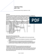 Park Board Urban Agriculture Policy Draft December 2014