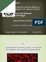 Gasometría. Ernesto Agustín Lara Benítez