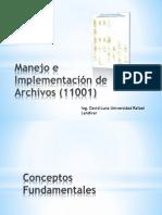 Manejo e Implementacion de Archivos - Fundamentos