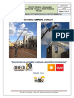 Modelo de informe semanal de seguridad