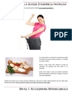 eBook 5 - Talie Subtire - Cum Sa Dai Jos 2 Numere La Pantaloni