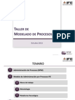 A. Taller de Modelado de Procesos FINAL
