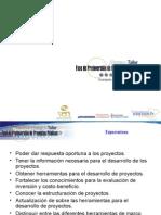 Preinversión Proyectos Públicos