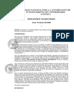 Resolucion n 150-2009-Conafu, Ascuña Prtesidente de Conafu