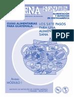 Guías Alimentarias Para Guatemala