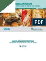 140930_Manual BPM en La Elaboración de Conservas de Carne de Conejo