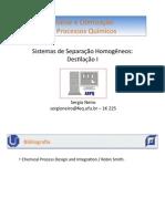 Sistemas de Separação II - Destilação Binária e Multicomponentes PDF