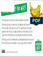 lbb newsletter insert 3 tooth decay