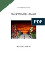 TRANSFORMAÇ~EOS  URBANAS -ATIVIDADE COMPLEMENTA