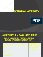 Recreational Activity