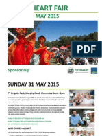Green Heart Fair Sponsor Proposal 31 May 2015