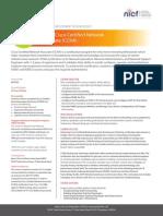 NICF - Cisco Certified Network Associate CCNA