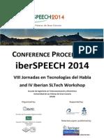 Iberspeech 2014 Online Proceedings