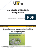Informatica Instrumental Aula 2 - Cronologia Da Computacao