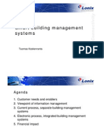 Smart Building Management Systems