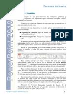 Lección 2010 Formato del texto