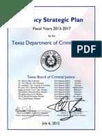 Agency Strategic Plan FY2013-17