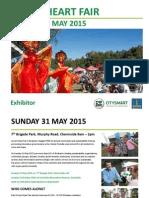 Green Heart Fair Exhibitor Application Form MAY 2015