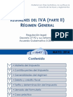 Regimen General (Ley Del Iva) Expo