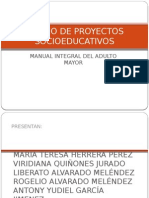 Diseño de Proyectos Socioeducativos...Manual Integral Del Adulto Mayor