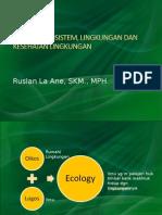 Week 3 Ekologi Ekosistem Kesehatan
