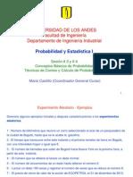 3.4 Conceptos Básicos de Probabilidad, Conteo y Cálculo de Probabilidades