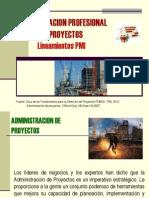 Administracion de Proyectos - Enfoque Pmi