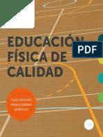 Educacion Fisica de Calidad UNESCO