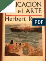 READ, Herbert - Educación Por El Arte - Cap. VII La Forma Natural de La Educación