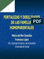 Gonzalez Fortalezas y Debilidades de Las Familias Homoparentales