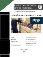 Albañileria Estructural - Final