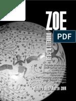Zoe, Revista Literaria. Número Dos