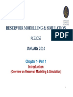 UTP - Reservoir Modelling & Simulation Course Ch 1-Part 1 - Jan 15