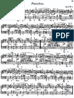 Chopin - Mazurkas 1-13