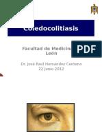 Coledocolitiasis y Tumor Biiar