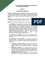 Reglamento via Publica Tlanepantla de Baz