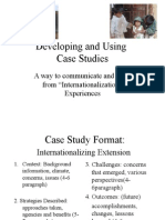 Case Study Format Guide