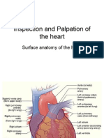 Inspection and Palpation of the Heart