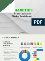 Consumer Sharing Trends Report (2014 Q4)