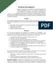 resumen; Informe de Investigación