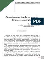 N 3 Clave Determinativa de Las Especies Del Genero Aspergillus