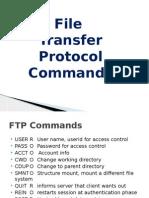 Vincent Wilson Globaleye FTP Commands