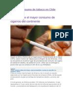 El Consumo de Tabaco en Chile