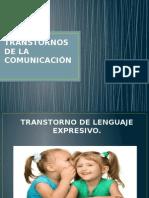 Transtorno de Lenguaje Expresivo