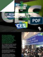 MEC@CES 2015 Key Takeaways
