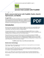 Email on FreeBSD Part 1