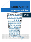 Perfect Contradictions - Joshua Sitton