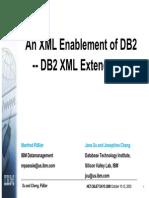 An XML Enablement of DB2 - DB2 XML extender.pdf