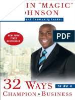 "32 Ways to Be a Champion in Business by Earvin ""Magic"" Johnson - Excerpt"